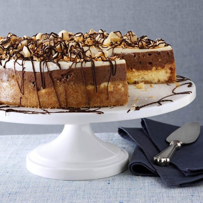 Island Crunch Cheesecake