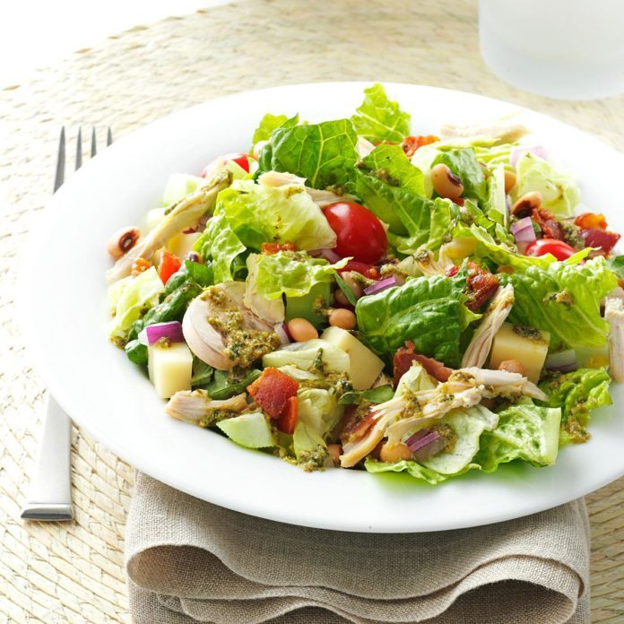 Italian Chopped Salad with Chicken