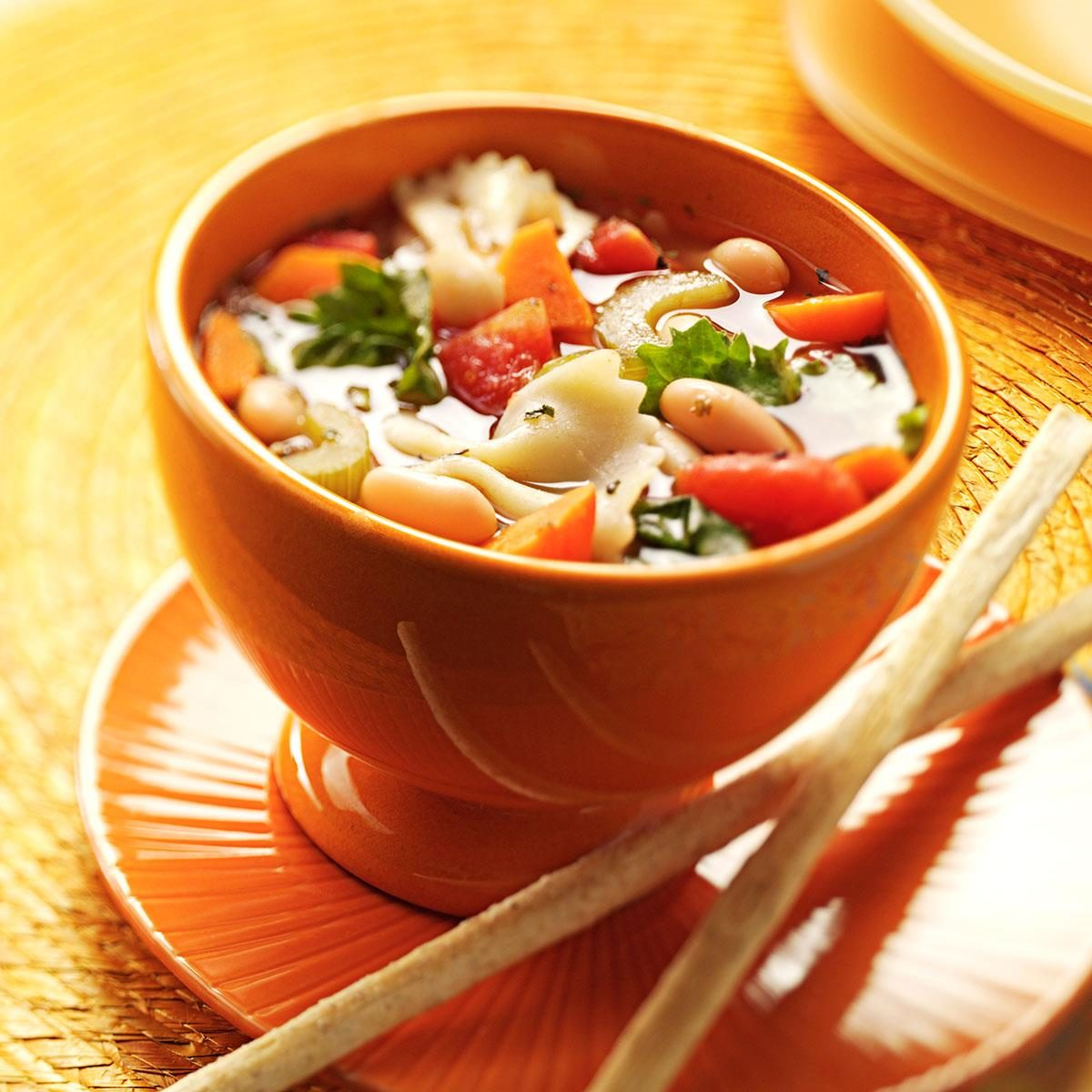 Italian vegetable soup recipe taste of home forumfinder Image collections