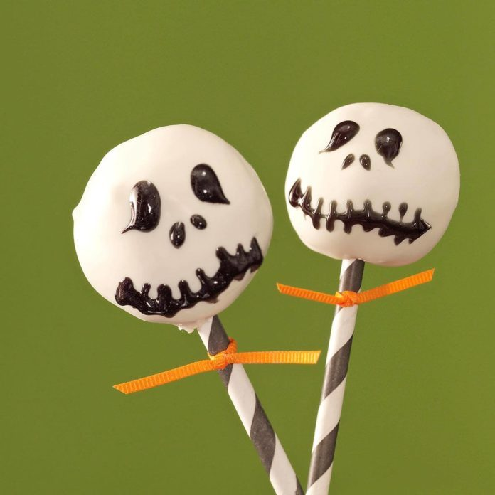 Jack Skellington Pops