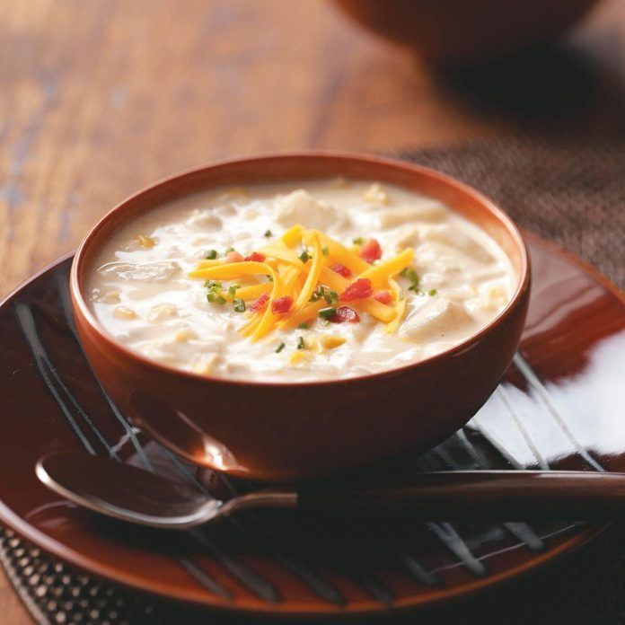 Jazzed-Up Clam Chowder