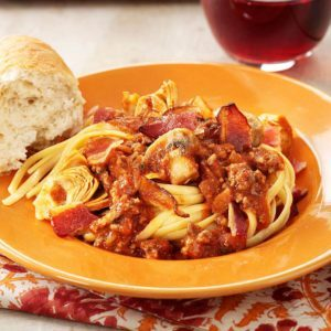 Jazzy Spaghetti Sauce