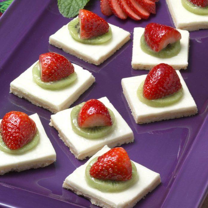 Kiwi Dessert Squares