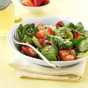 Inspired by: Strawberry Poppyseed with Chicken Salad