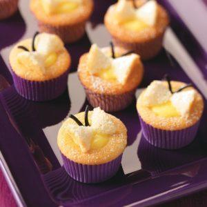 Lemon Butterfly Cupcakes