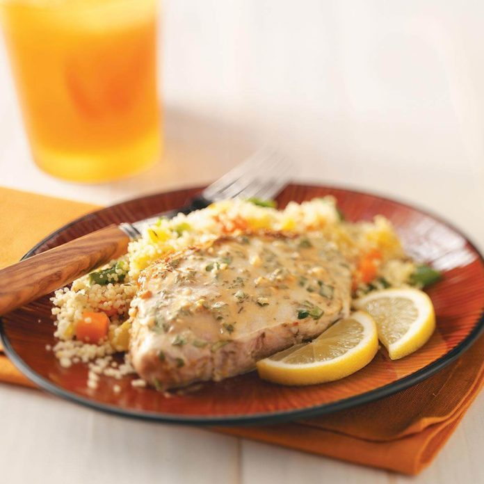 Lemon-Mustard Pork Chops