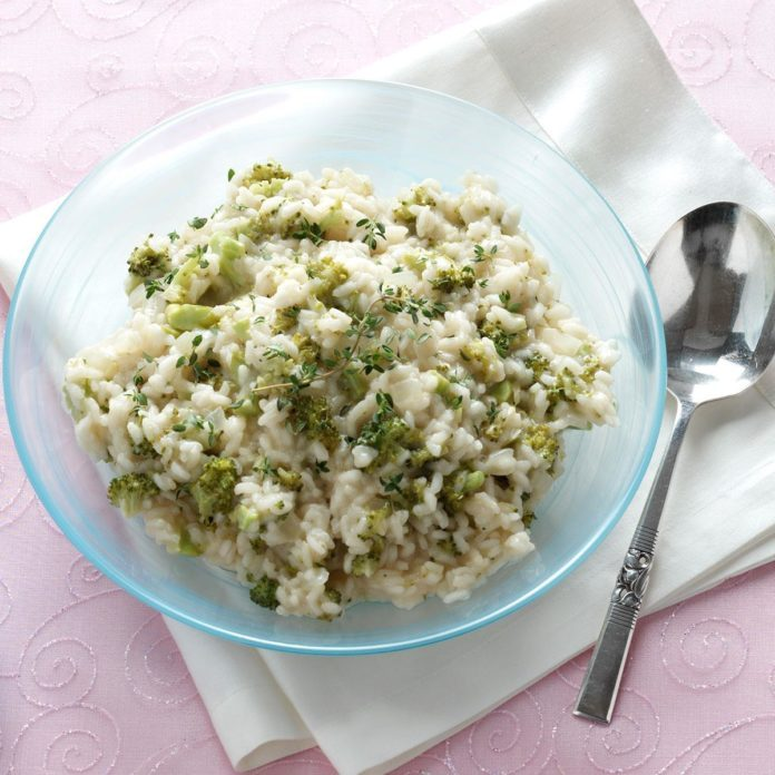 Lemon Risotto with Broccoli