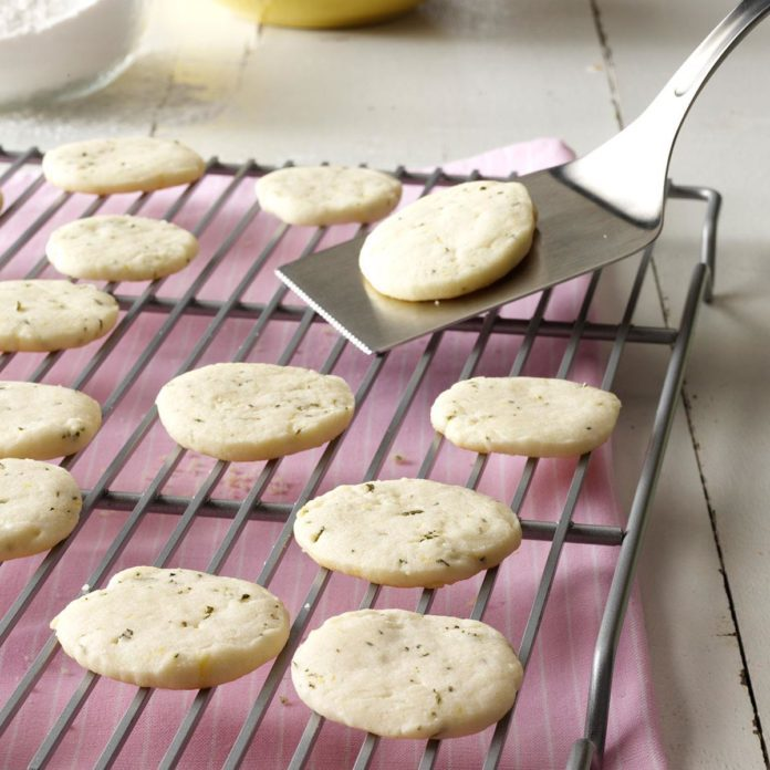 Rosemary: Lemon & Rosemary Shortbread