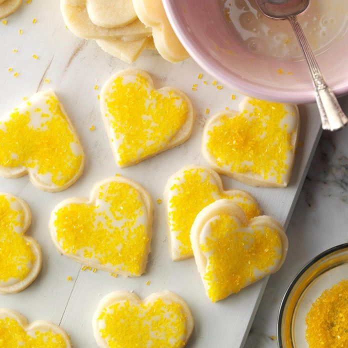 Nut Free: Lemon Shortbreads