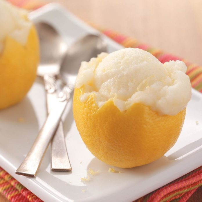 how to make sherbet without ice cream maker