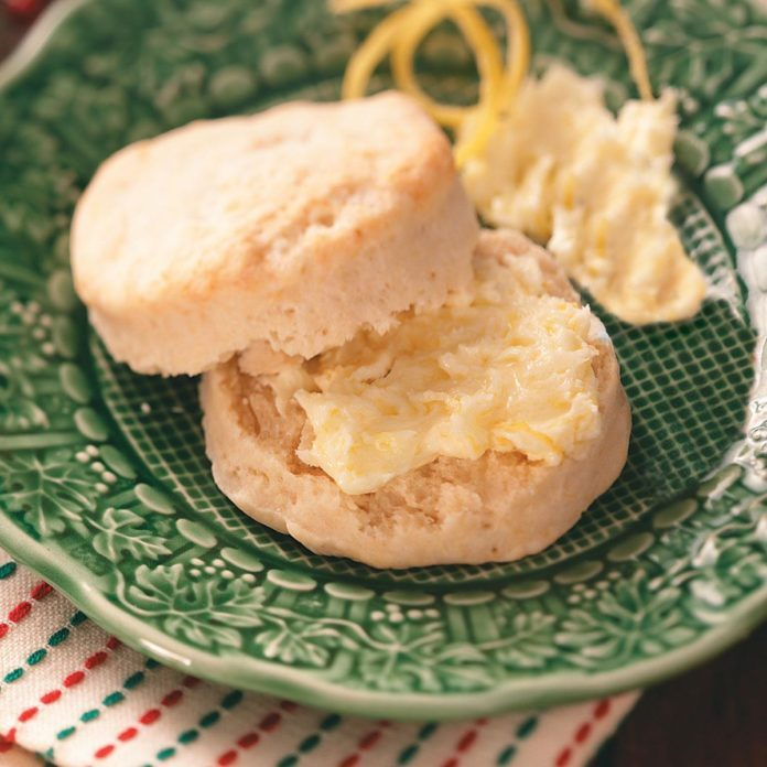 Lemon Tea Biscuits