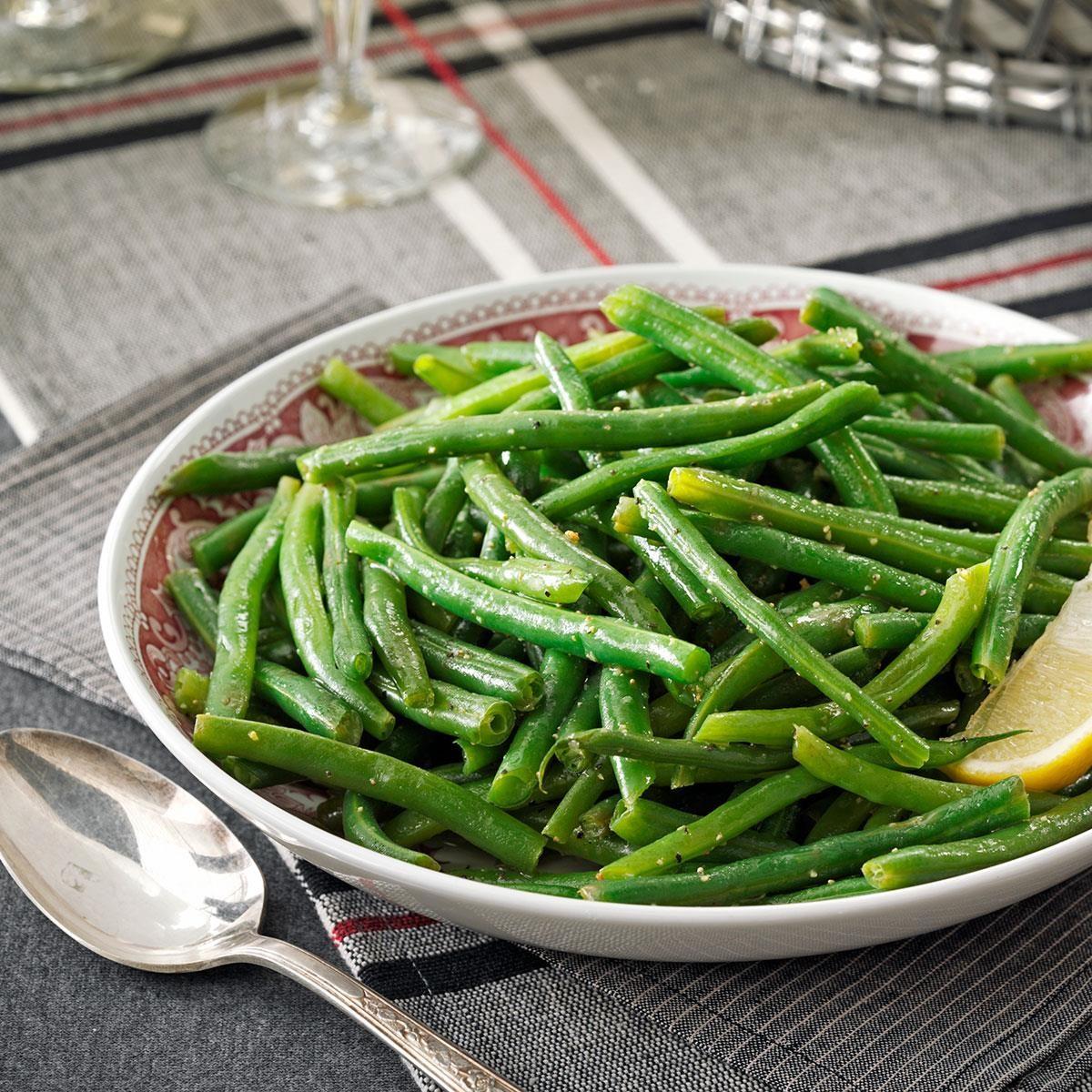Lemony Green Beans Recipe