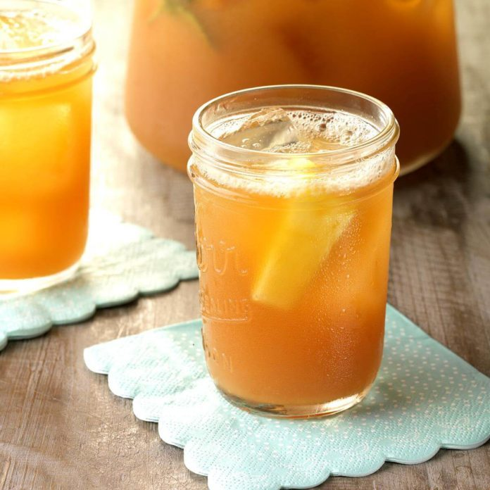 Lemony Pineapple Iced Tea