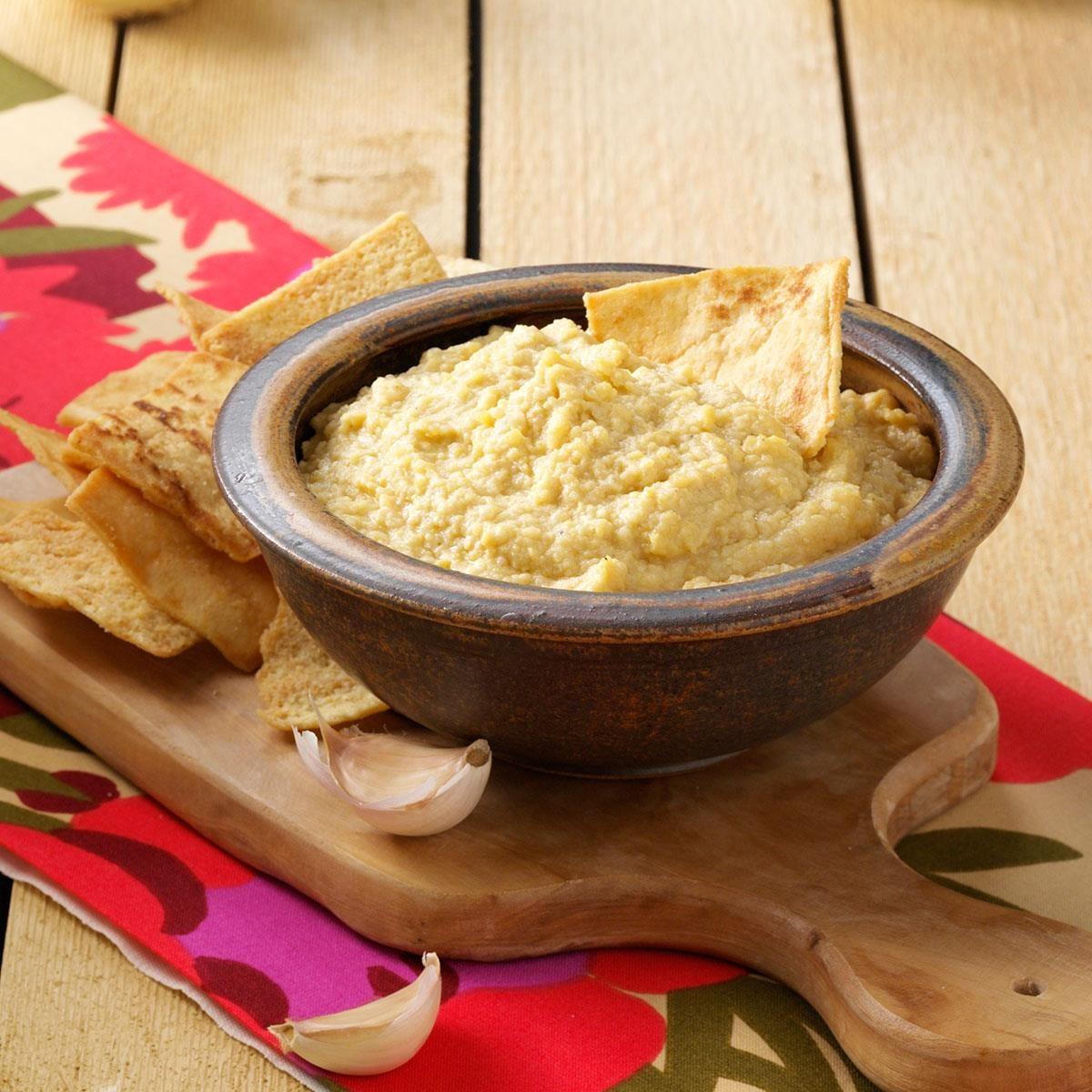 Lick-the-Bowl-Clean Hummus Recipe