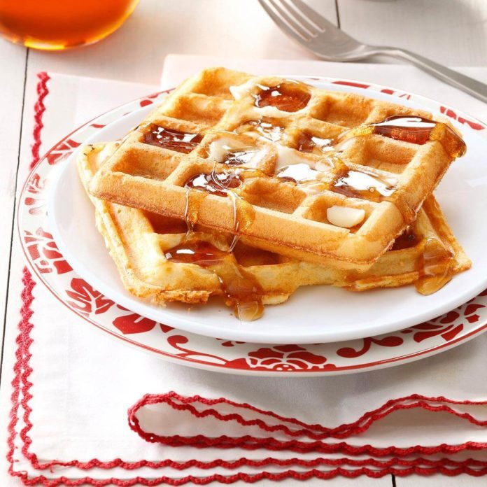 Light 'n' Crispy Waffles