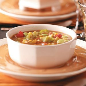 Lima Bean Okra  Soup