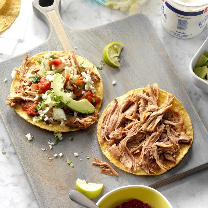 Day 26: Lime-Chipotle Carnitas Tostadas
