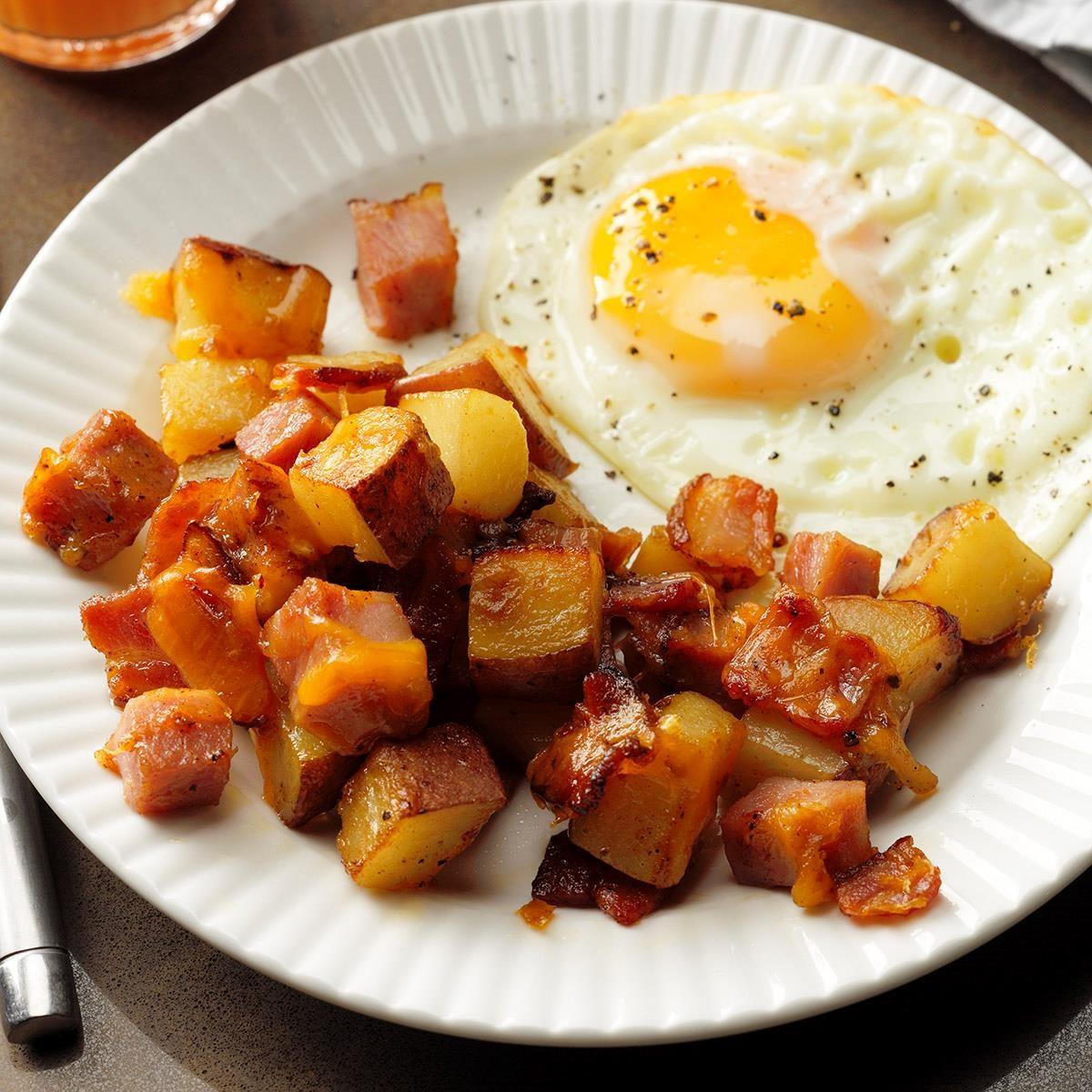 loaded breakfast potatoes recipe taste of home