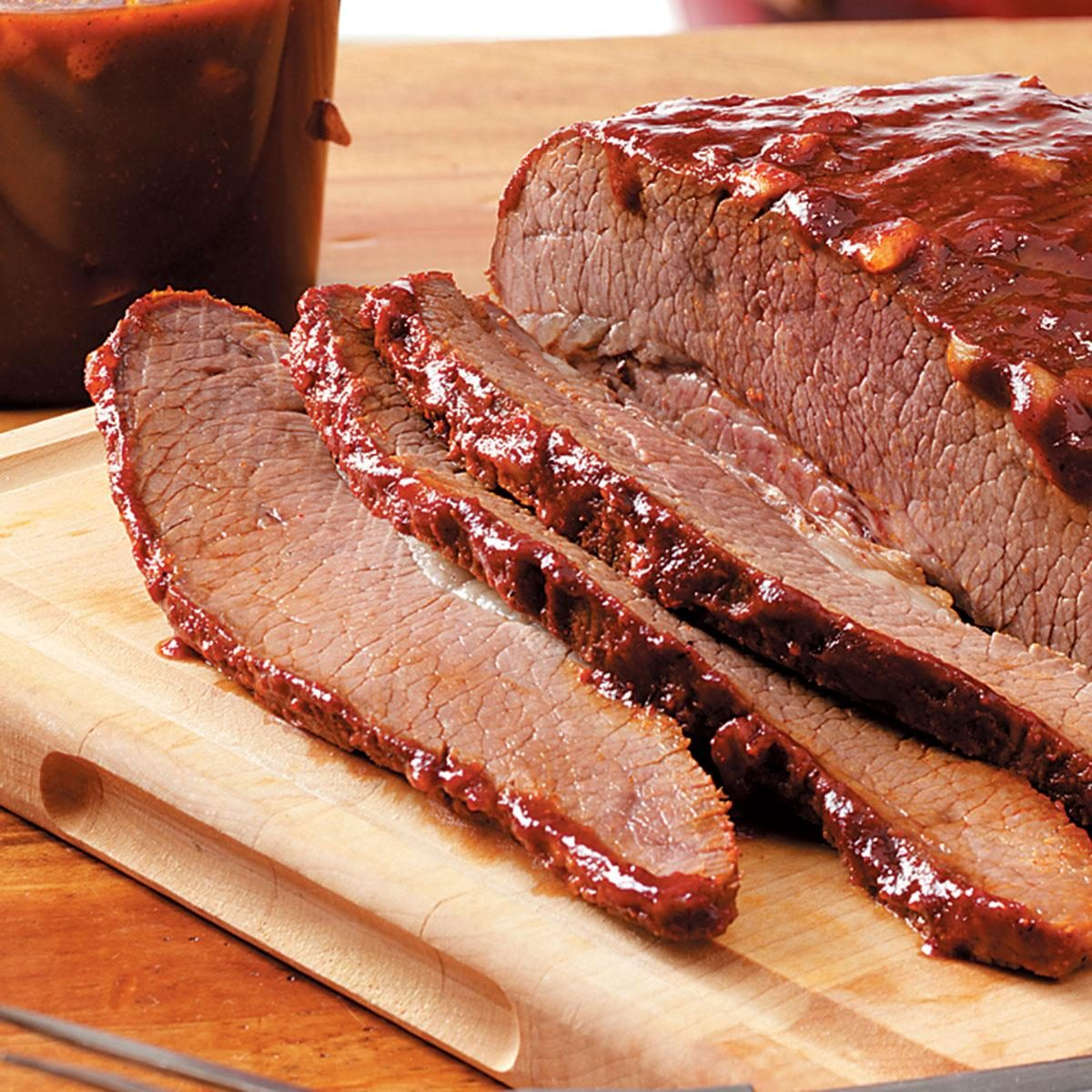 louisiana barbecue brisket recipe taste of home. Black Bedroom Furniture Sets. Home Design Ideas