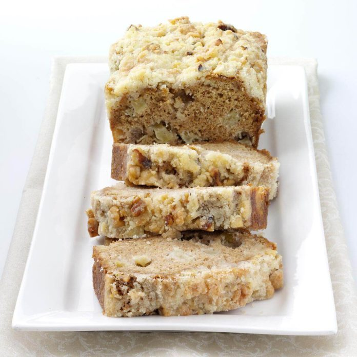 Makeover Apple Bread
