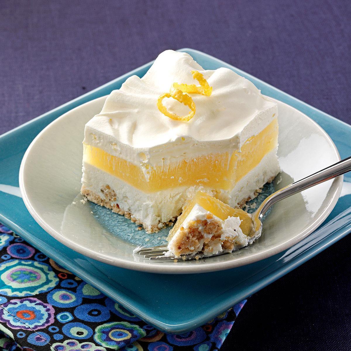 Makeover Frosty Lemon Squares Recipe