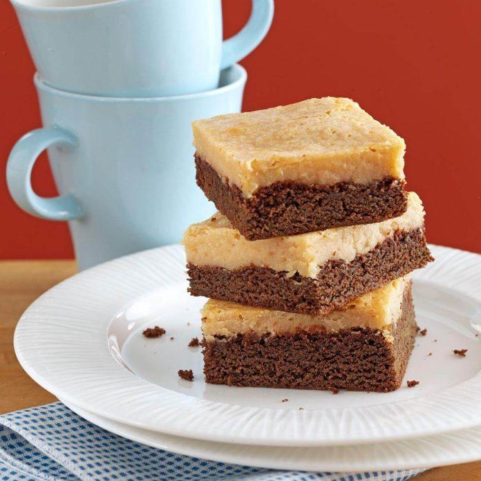 Makeover Gooey Chocolate Peanut Butter Cake