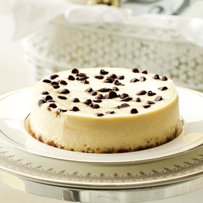 Makeover Irish Cream Cheesecake