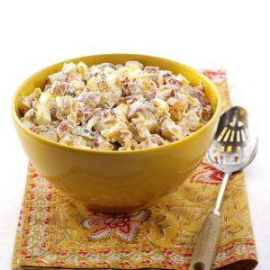 Makeover Loaded Baked Potato Salad