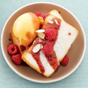 Mango Sorbet Dessert