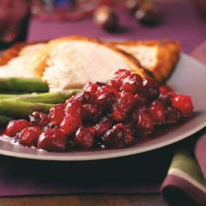 Maple-Honey Cranberry Sauce