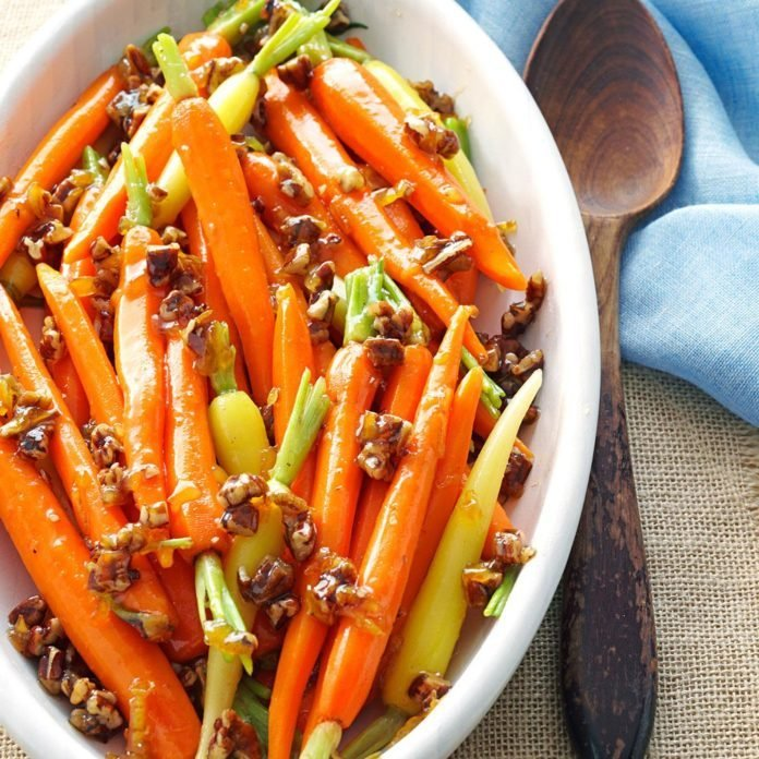 Marmalade Candied Carrots