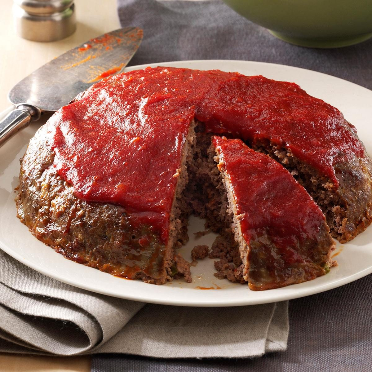 Meat Loaf with Chili S...