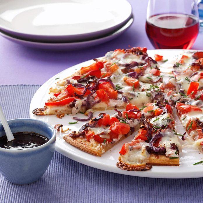 Mediterranean Masterpiece Pizza
