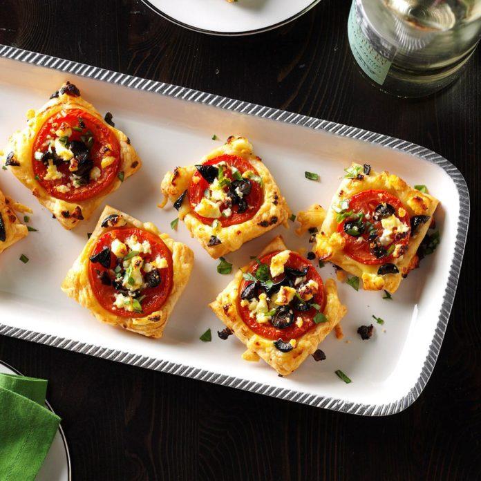 Mediterranean Tomato Bites
