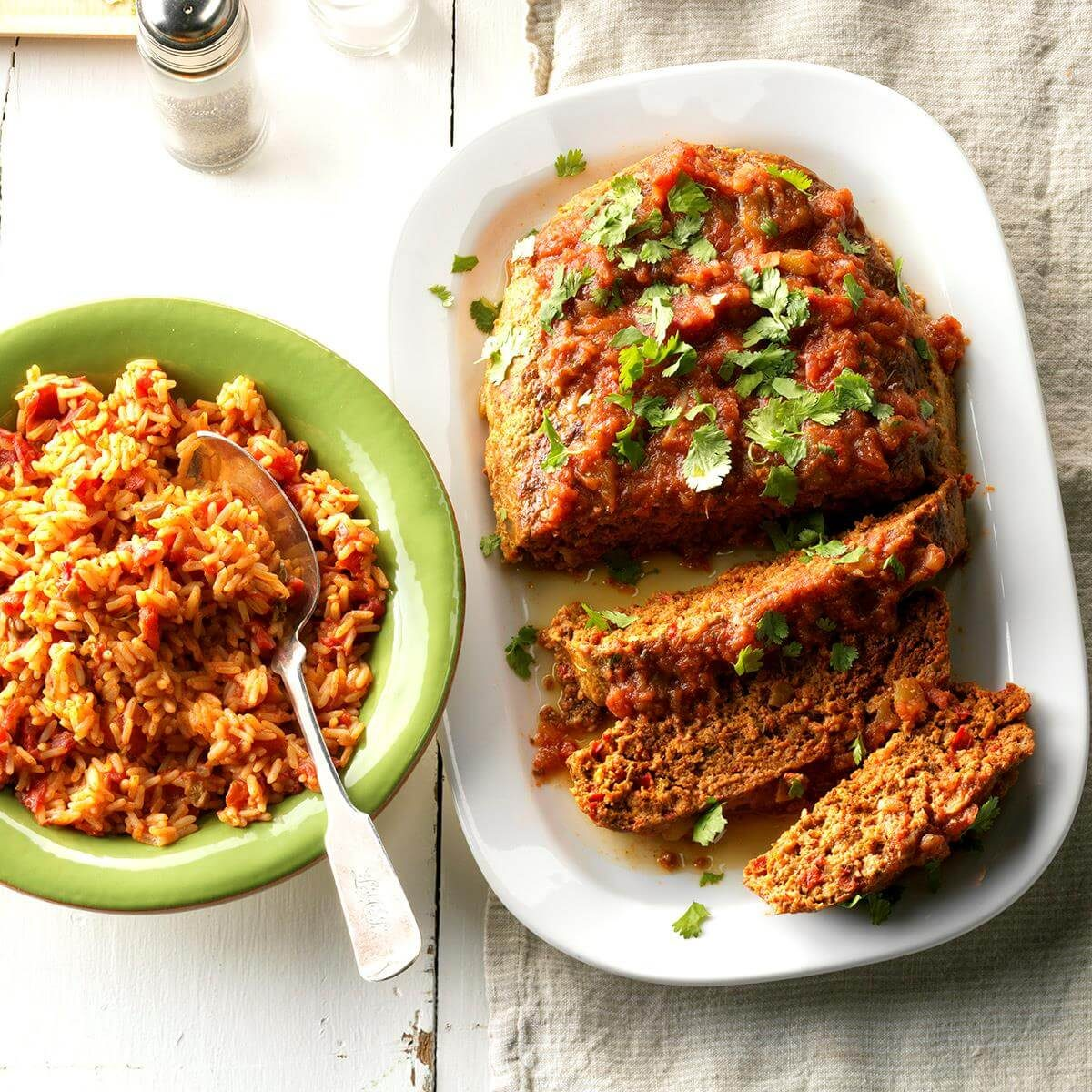 Top 10 Mexican Dinner Recipes: Mexican Turkey Meat Loaf Recipe