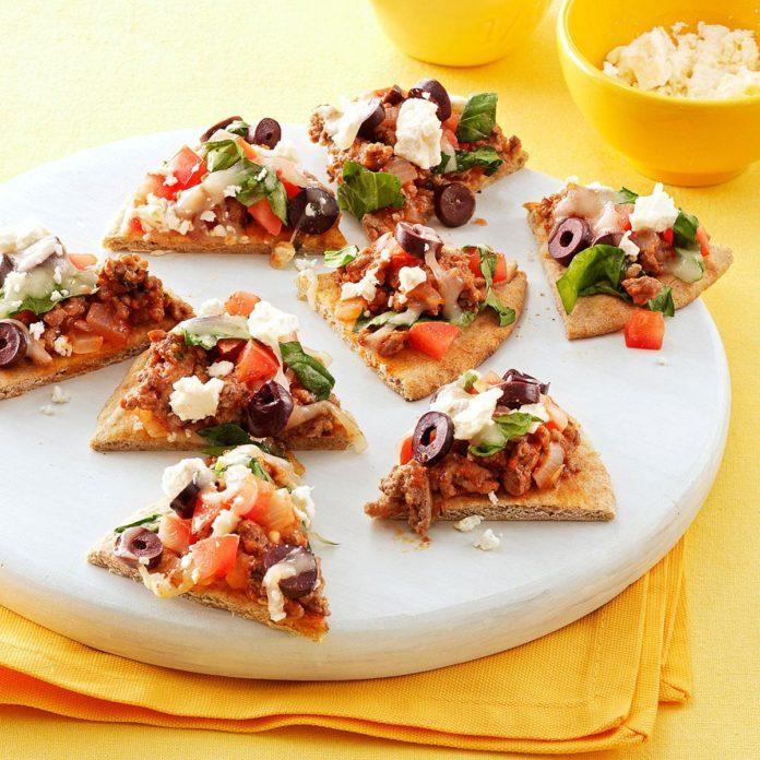 Mini Mediterranean Pizza