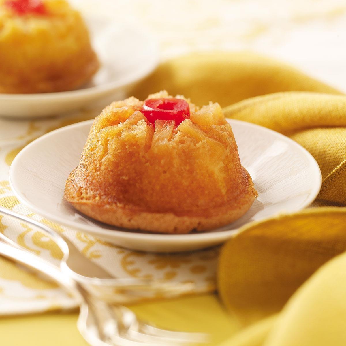 Mini Pineapple Upside-Down Cakes Recipe