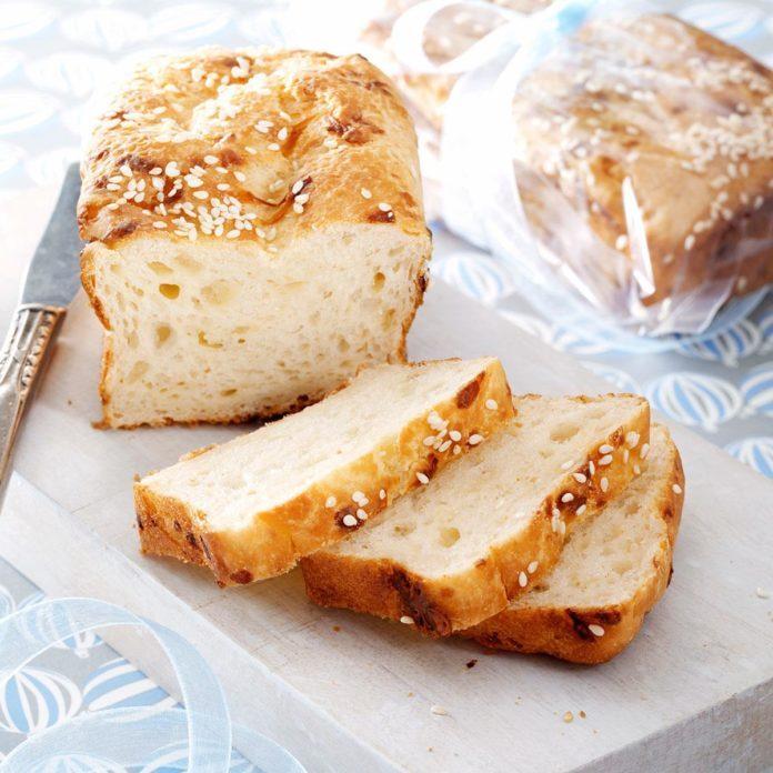 Mini Swiss Cheese Loaves