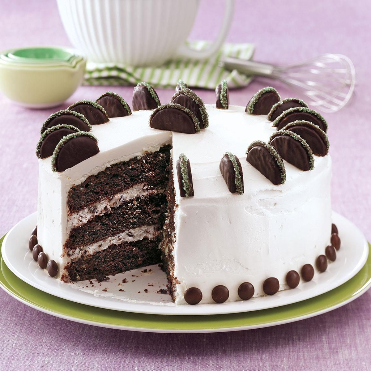 Peppermint Patty Chocolate Cake Recipe