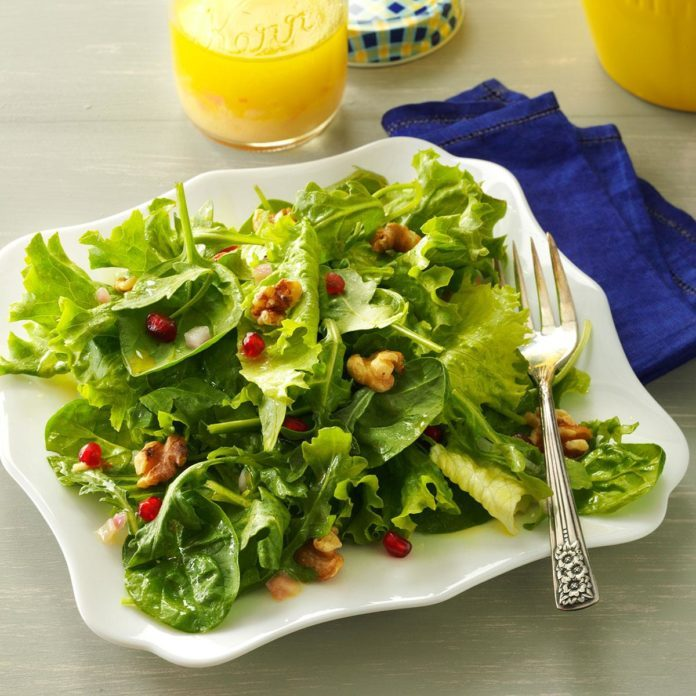 Mixed Greens with Lemon Champagne Vinaigrette