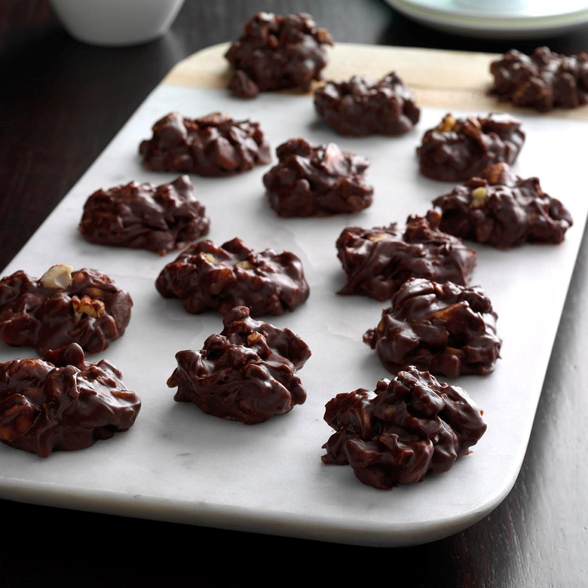 Chocolate Raisin Clusters Dunmore Candy Kitchen: Mixed Nut Clusters Recipe