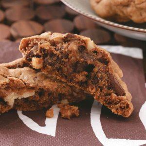 Mocha Chunk Cookies