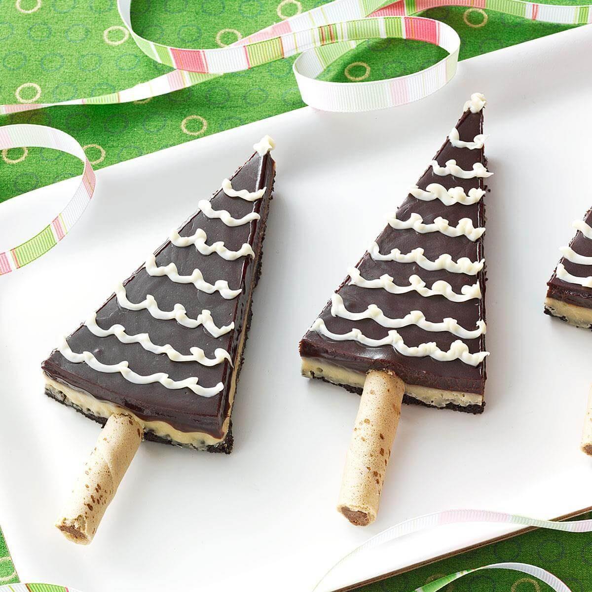 Mocha Truffle Trees Recipe | Taste of Home