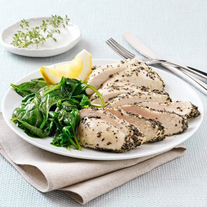 Moist Lemon Herb Chicken