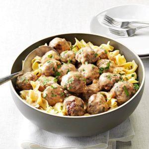 Mom's Swedish Meatballs