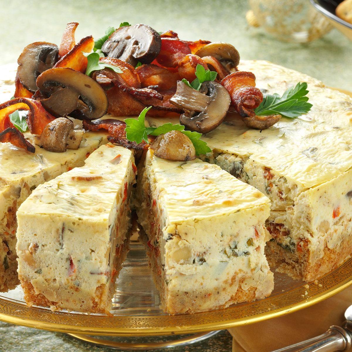 picture Savoury Cheesecake Recipe