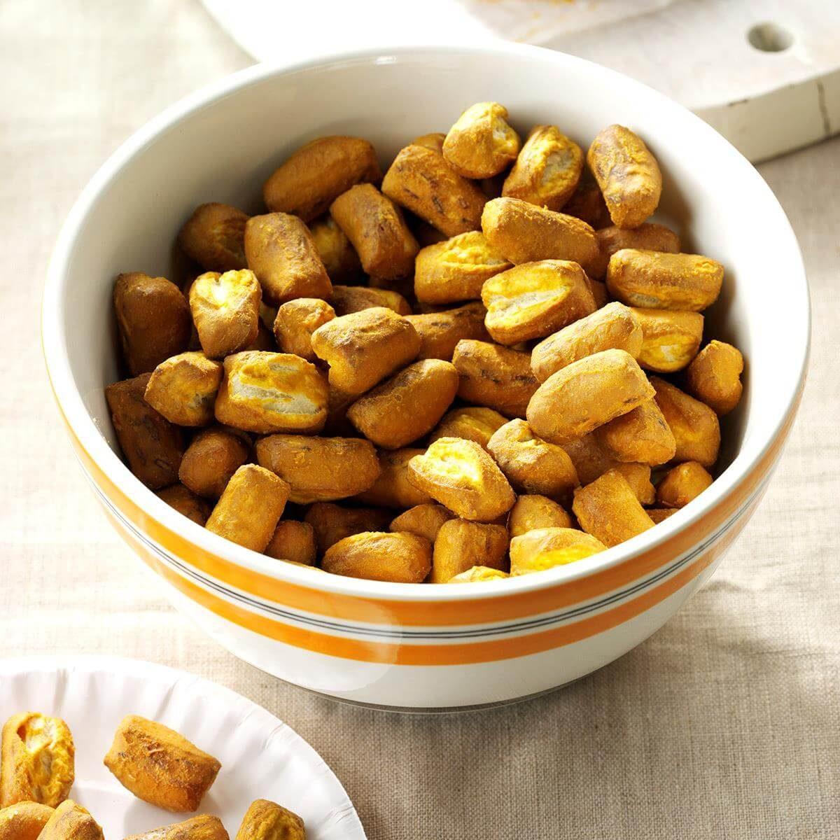 Mustard Pretzel Nuggets