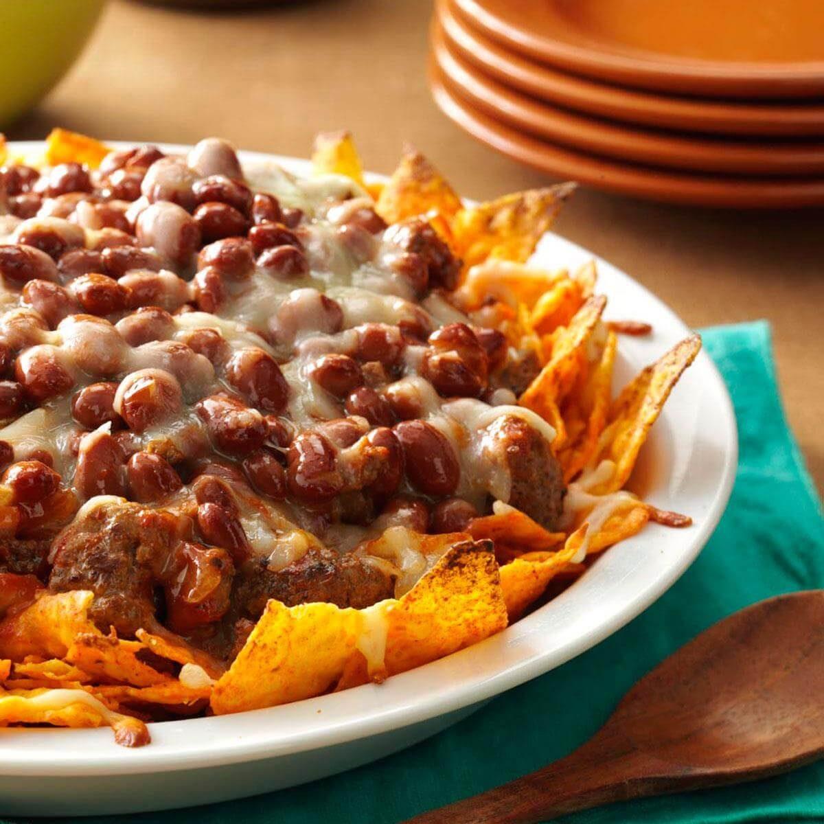 Nacho Pie Recipe Taste Of Home