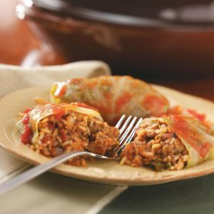Old-Fashioned Cabbage Rolls