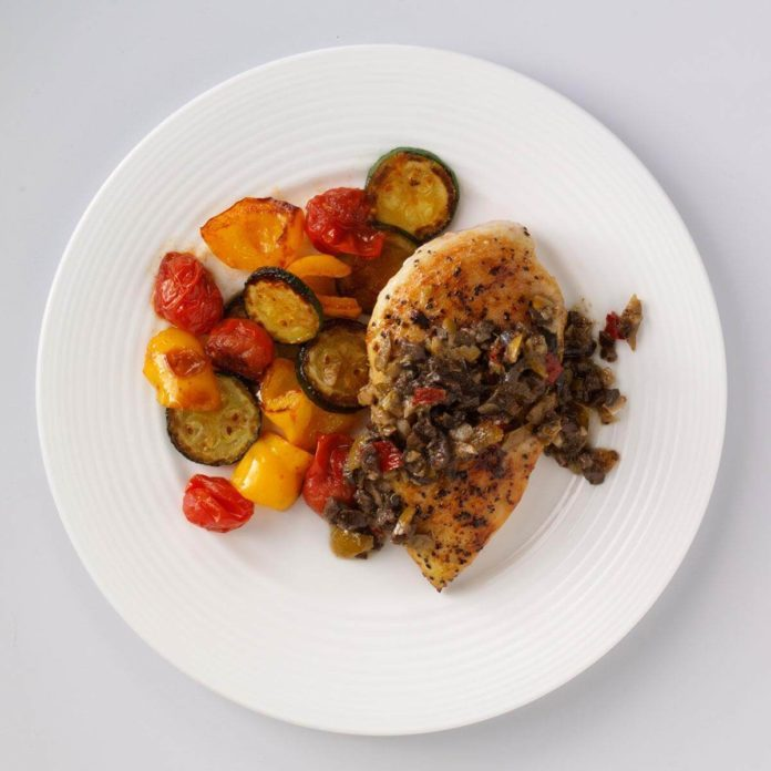 Olive 'n Fig Chicken for Two